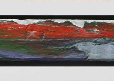 Red Rock Heart - 62 x 23 cm