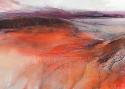 Terre Rouge - 113 x 70 cm - oil on canvas - available through aafineart