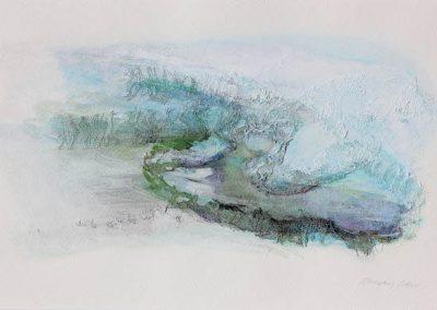 Verdigris - 57 x 45 cm